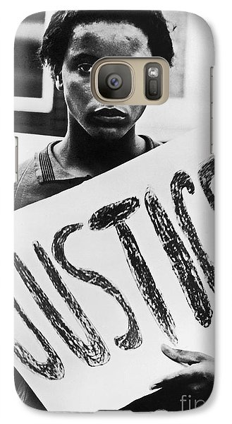 Civil Rights, 1961 Galaxy S7 Case by Granger