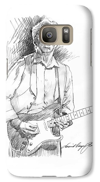 Clapton Riff Galaxy S7 Case by David Lloyd Glover