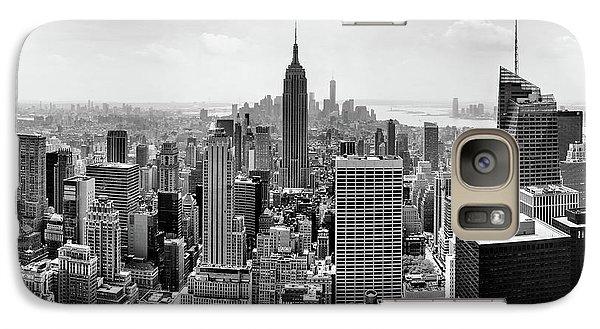 Classic New York  Galaxy S7 Case by Az Jackson