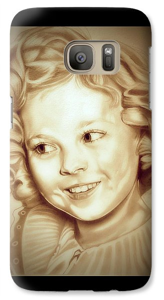 Classic Shirley Temple Galaxy S7 Case by Fred Larucci