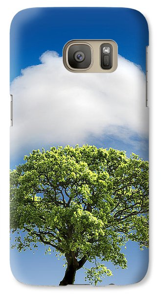 Cloud Cover Galaxy Case by Mal Bray