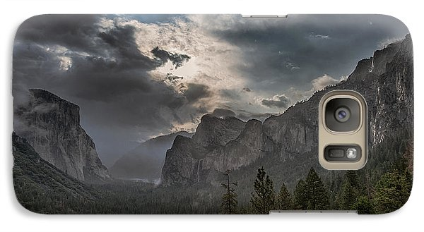 Clouds And Light Galaxy Case by Bill Roberts