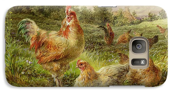Cochin China Fowls Galaxy S7 Case by George Hickin