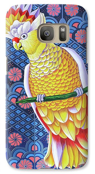 Cockatoo Galaxy S7 Case by Jane Tattersfield
