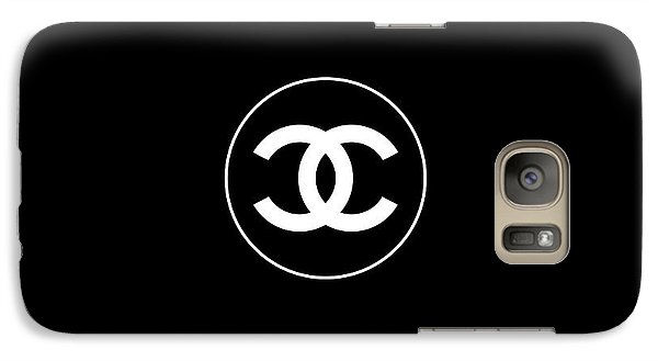 Coco Chanel Galaxy S7 Case by Tres Chic