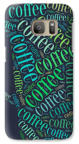 Coffee Time Galaxy Case by Bill Cannon