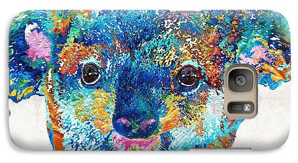 Colorful Koala Bear Art By Sharon Cummings Galaxy S7 Case by Sharon Cummings