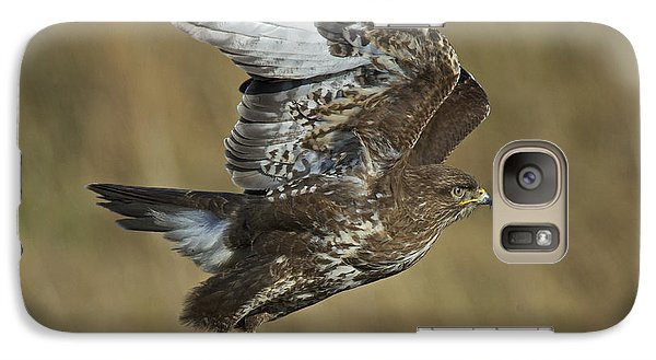 Common Buzzard Galaxy S7 Case by Michael Durham/FLPA
