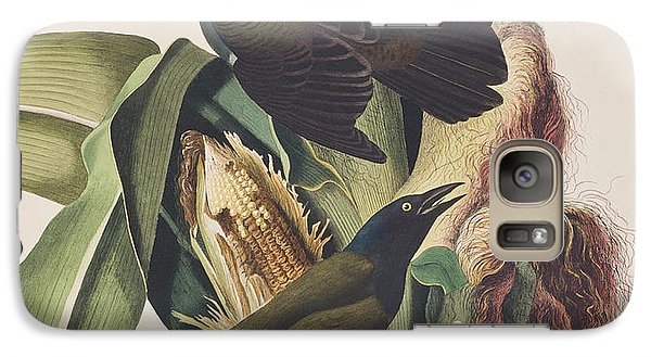 Common Crow Galaxy S7 Case by John James Audubon