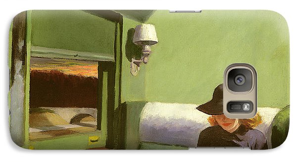 Compartment C Galaxy Case by Edward Hopper