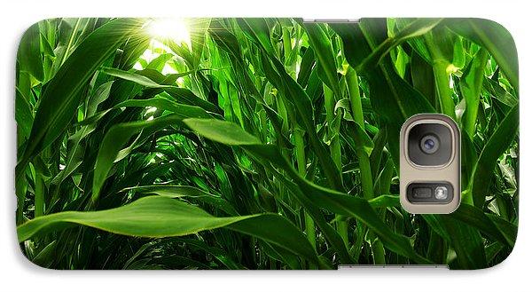 Corn Field Galaxy Case by Carlos Caetano