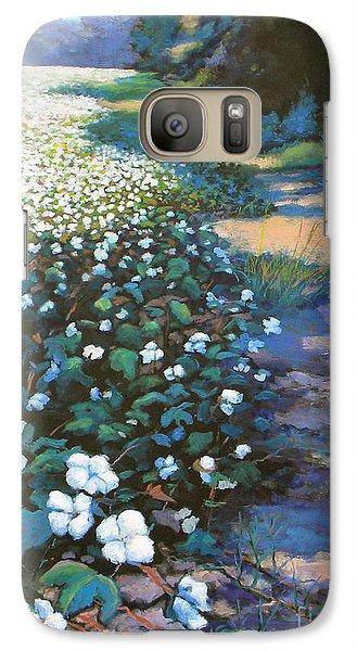 Cotton Field Galaxy S7 Case by Jeanette Jarmon
