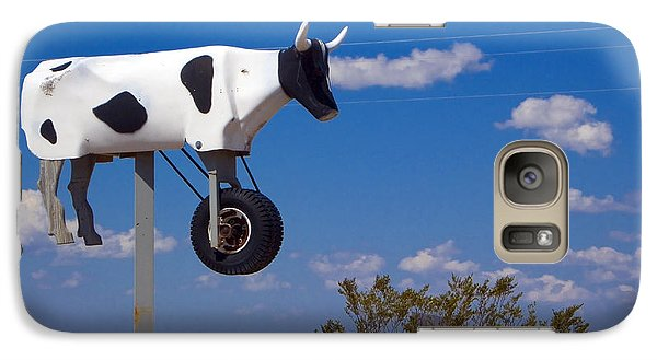 Cow Power Galaxy S7 Case by Skip Hunt