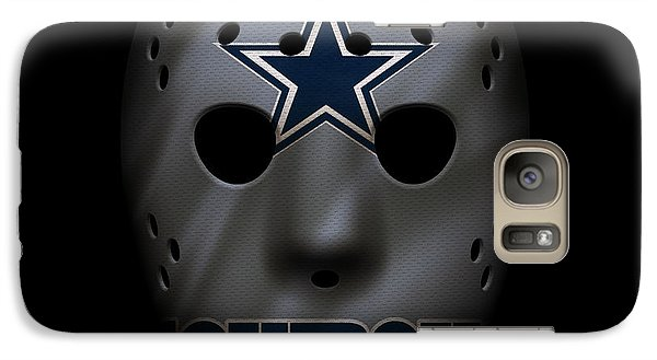 Cowboys War Mask 2 Galaxy S7 Case by Joe Hamilton