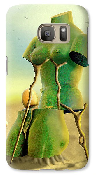 Crutches 2 Galaxy S7 Case by Mike McGlothlen