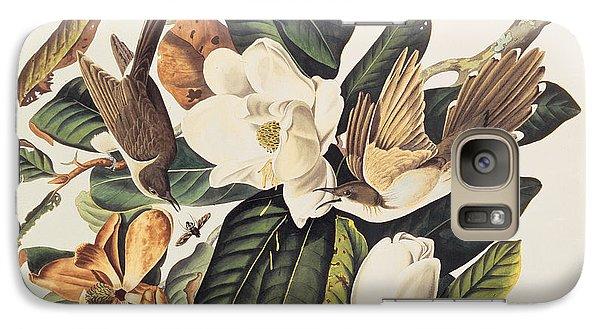 Cuckoo On Magnolia Grandiflora Galaxy S7 Case by John James Audubon
