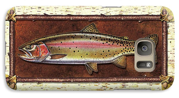 Cutthroat Trout Lodge Galaxy S7 Case by JQ Licensing