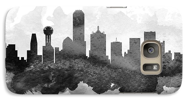 Dallas Cityscape 11 Galaxy S7 Case by Aged Pixel