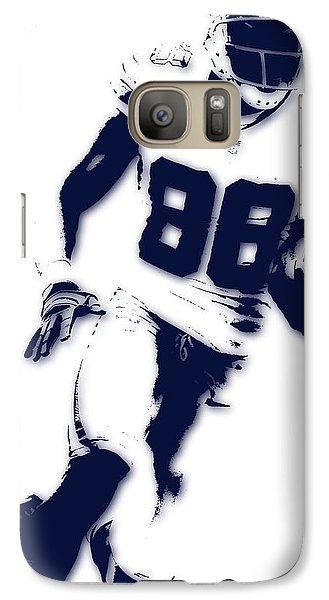 Dallas Cowboys Dez Bryant Galaxy S7 Case by Joe Hamilton