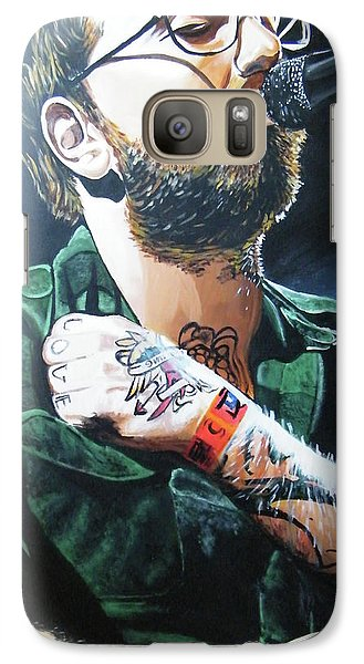 Dallas Green Galaxy S7 Case by Aaron Joseph Gutierrez