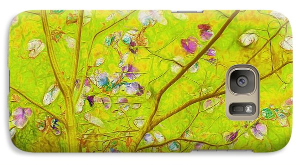 Dancing In The Wind 01 - 343 Galaxy S7 Case by Variance Collections
