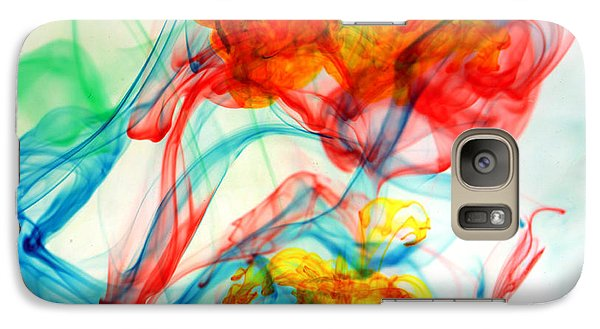 Dancing In Water Galaxy Case by Michael Ledray