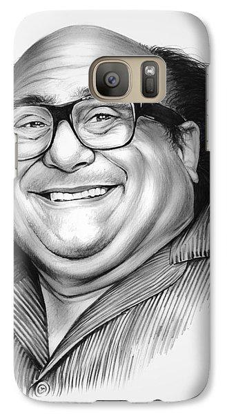 Danny Devito Galaxy S7 Case by Greg Joens