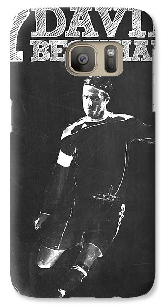 David Beckham Galaxy Case by Semih Yurdabak