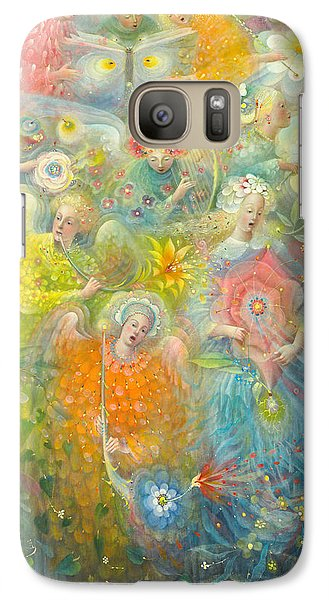 Daydream After The Music Of Max Reger Galaxy S7 Case by Annael Anelia Pavlova