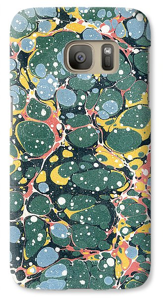 Decorative Endpaper Galaxy S7 Case by Unknown