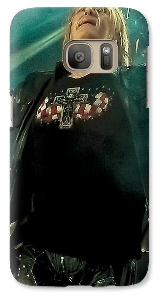 Def Lappard's Joe Elliott Galaxy Case by David Patterson