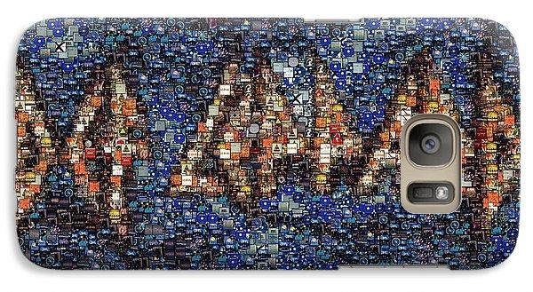 Def Leppard Albums Mosaic Galaxy Case by Paul Van Scott