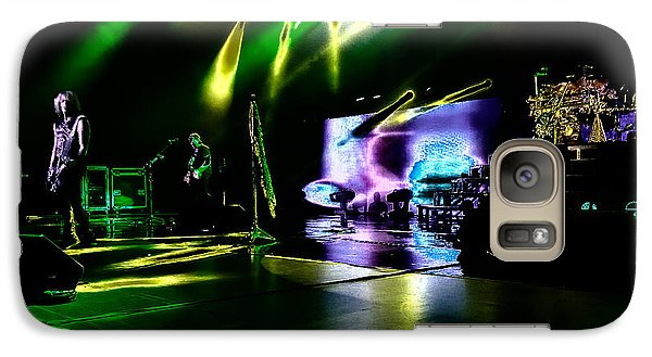 Def Leppard At Saratoga Springs 4 Galaxy Case by David Patterson