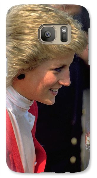 Galaxy Case featuring the photograph Diana Princess Of Wales by Travel Pics