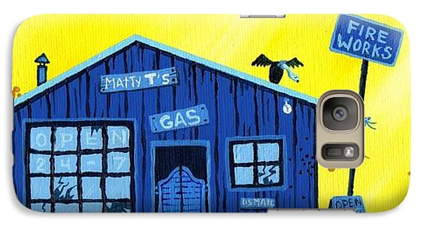 Did You See That Galaxy Case by Dan Keough