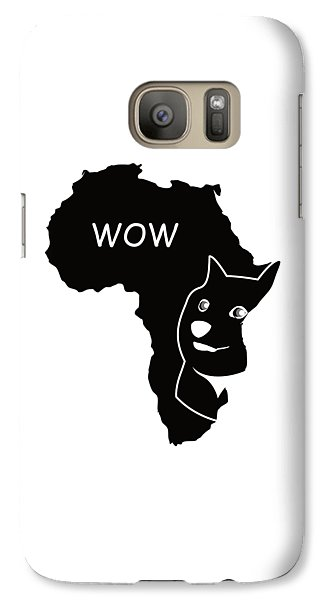 Dogecoin In Africa Galaxy S7 Case by Michael Jordan
