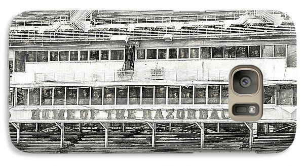Donald W. Reynolds Razorback Stadium Galaxy S7 Case by JC Findley