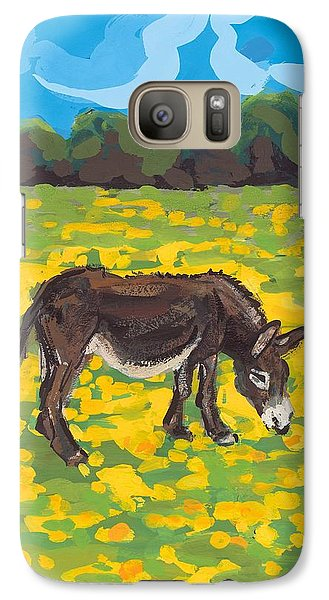 Donkey And Buttercup Field Galaxy S7 Case by Sarah Gillard