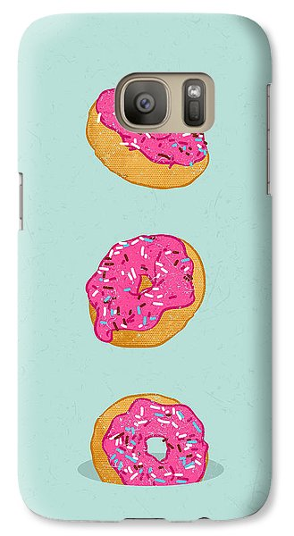 Doughnuts Galaxy Case by Evgenia Chuvardina
