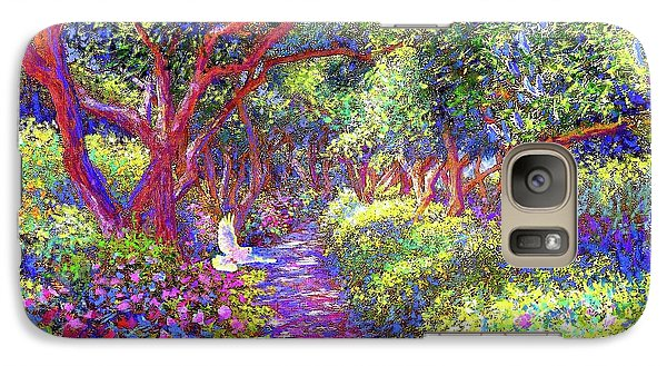Dove And Healing Garden Galaxy S7 Case by Jane Small
