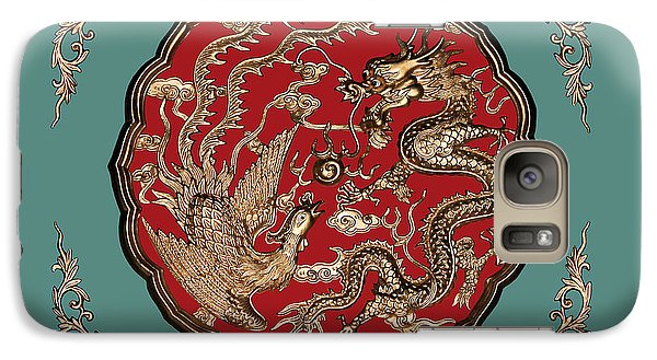 Dragon And Phoenix Galaxy S7 Case by Kristin Elmquist