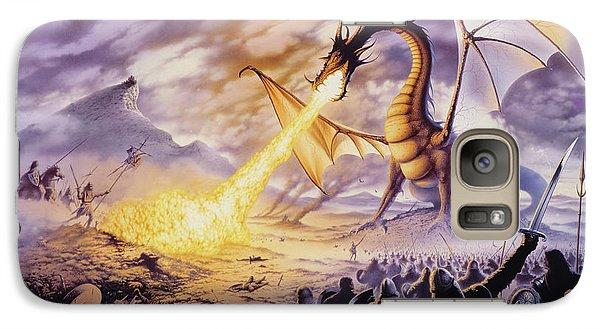 Dragon Battle Galaxy Case by The Dragon Chronicles - Steve Re
