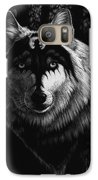Dragon Wolf Galaxy S7 Case by Stanley Morrison