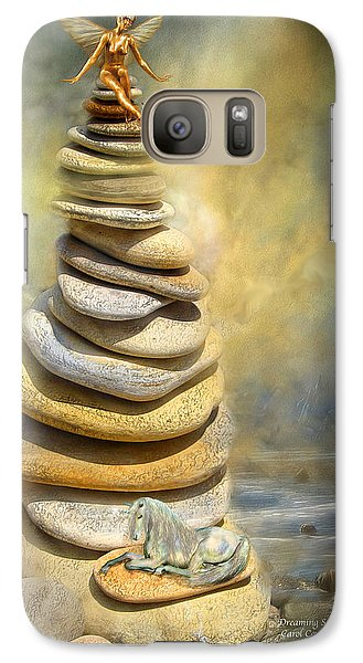 Dreaming Stones Galaxy S7 Case by Carol Cavalaris