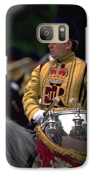 Galaxy Case featuring the photograph Drum Horse At Trooping The Colour by Travel Pics