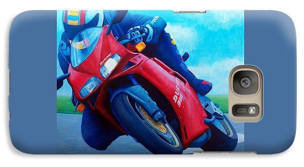 Ducati 916 Galaxy Case by Brian  Commerford