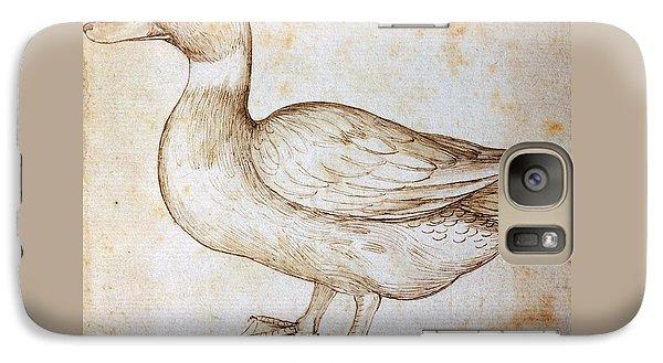 Duck Galaxy S7 Case by Leonardo Da Vinci