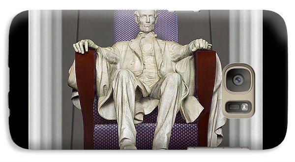 Ea-z-chair Lincoln Memorial Galaxy Case by Mike McGlothlen