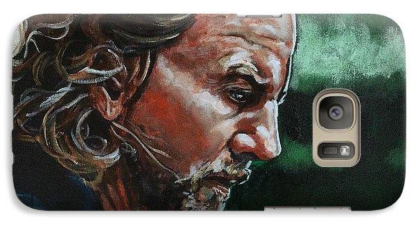 Eddie Vedder Galaxy S7 Case by Joel Tesch