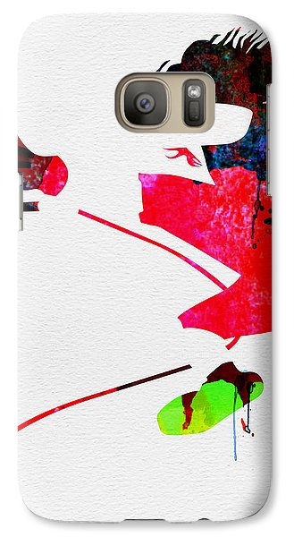 Eddie Watercolor Galaxy Case by Naxart Studio